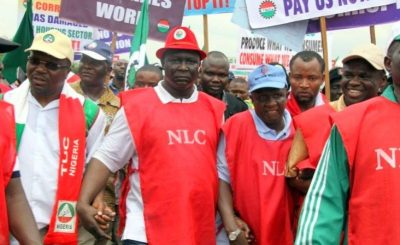 NLC e1463602766465 - Minimum Wage: Labour threaten to resume strike unless government acts