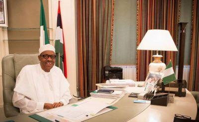 Buhari Resumes 1 e1466522481924 - Photo: Pres. Buhari resume work