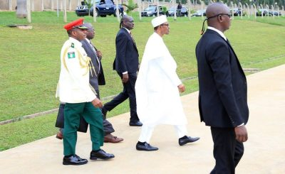 Chad2 1 e1470651871874 - Photo: Pres. Buhari departed for Chad