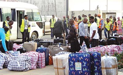 deportee - Over 34 Nigerians deported from the U.S.