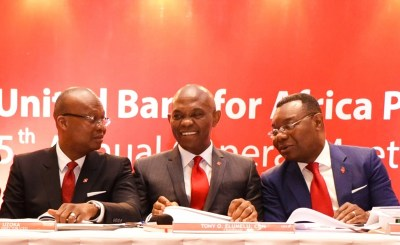 UBA AGM 12 - Roles of MFBs, SMEs in Nigeria economic growth, by Tony Elumelu