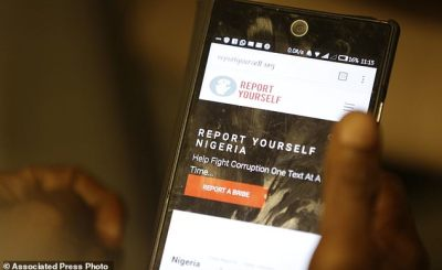 report yourself - Report Yourself: Platform for Nigerians to report everyday corruption