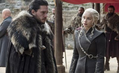 Jon snow and Daenerys - 'Game of Thrones' season finale create record of all-time high