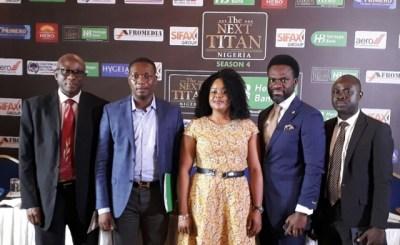 heritag bank the next titan 001 - Heritage Bank to sponsor 4th entrepreneur TV Show 'The Next Titans'