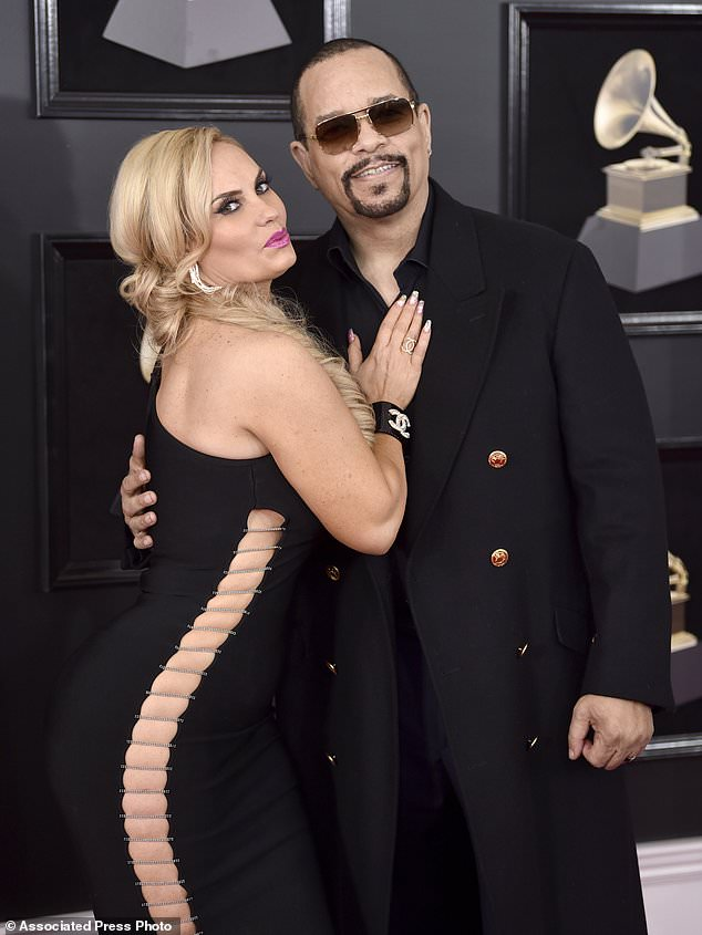 Coco austin - Gaga among stars wearing white roses on Grammys red carpet