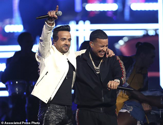 Luis Fonsi 1 - Bruno Mars wins 6 for 6 at the Grammys, as Jay-Z missed out in all 8