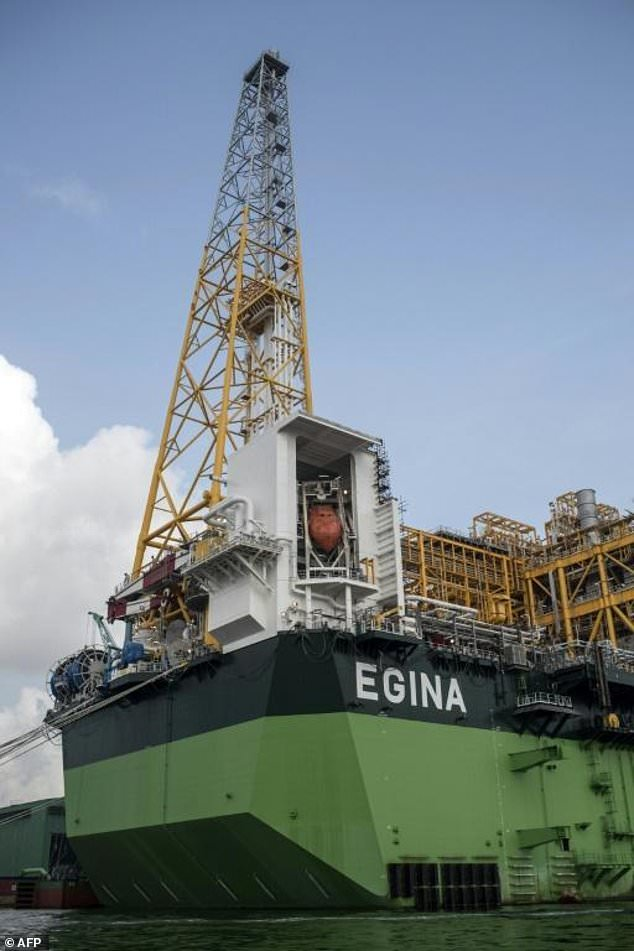 Egina FPSO height - Nigeria looks to local skills to develop oil and gas