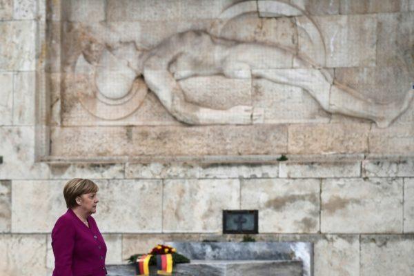 Merkel: Germany recognises 'historical responsibility' for Nazi crimes in Greece