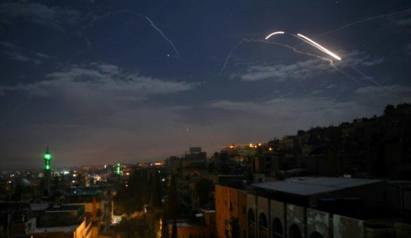 Syria says It Repelled Israeli Air Raid Near Damascus