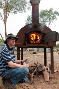 neil tait fires the oven