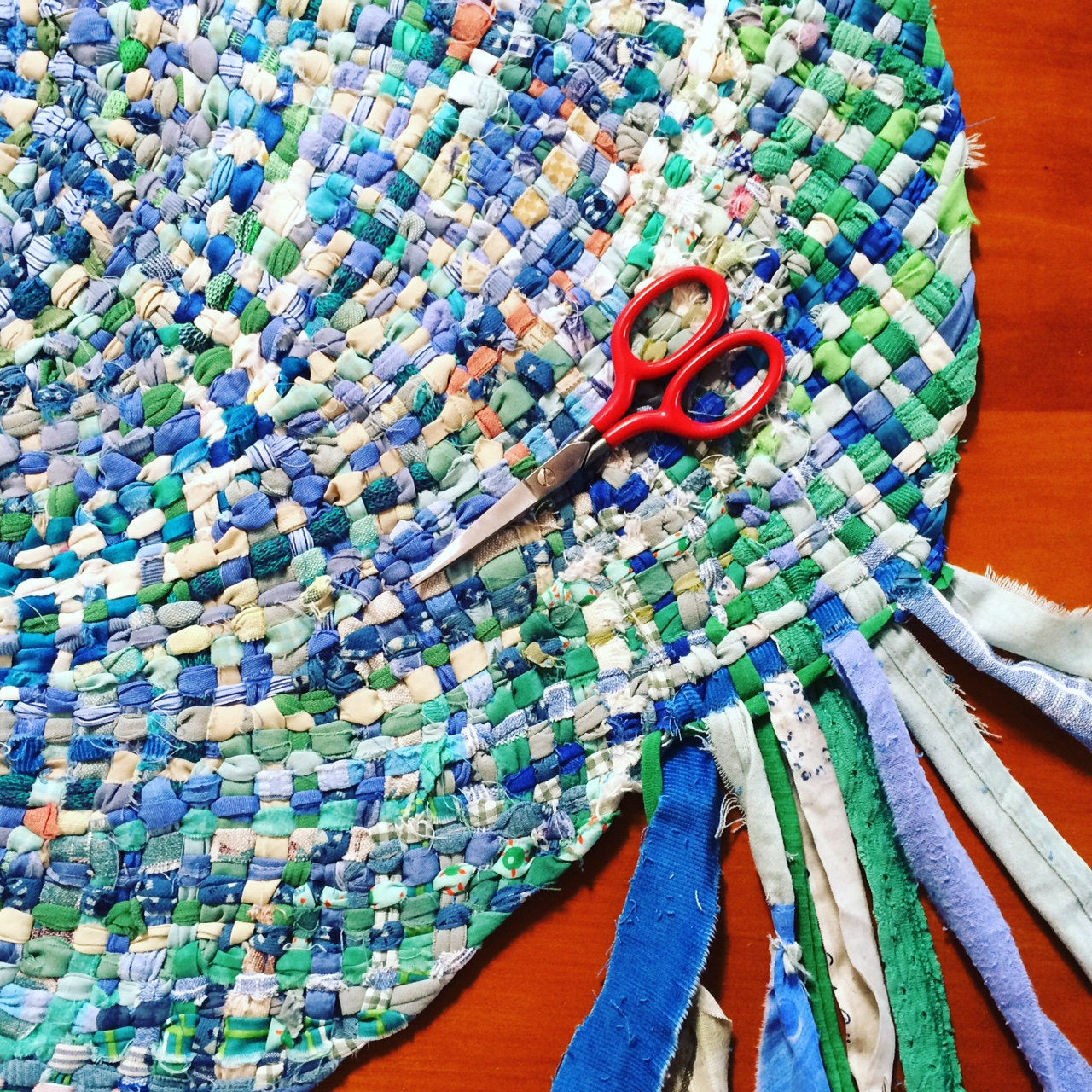 Braided Rag Rug workshop with Ilka White  Newstead