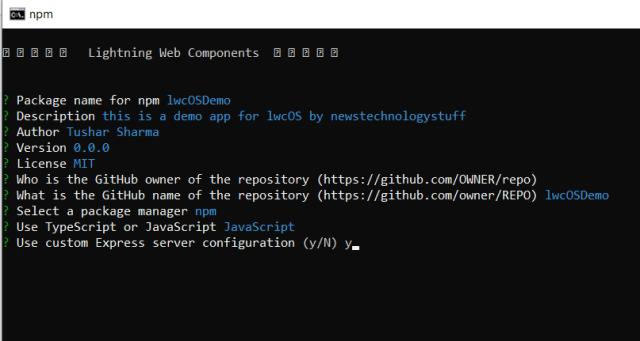 Open Source Lightning Web Component provide details