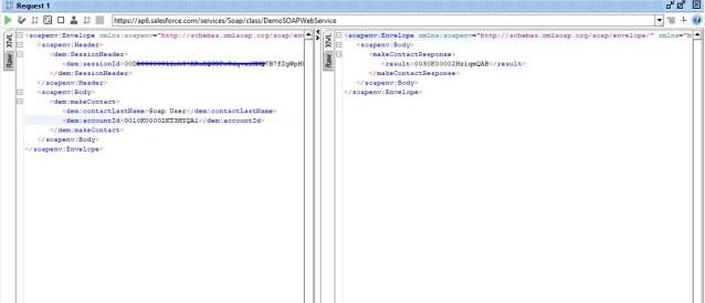 Consume Custom API in SoapUI Salesforce