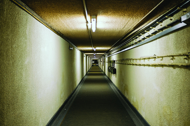 A nuclear bunker looks like this. Photo: Scott Wylie