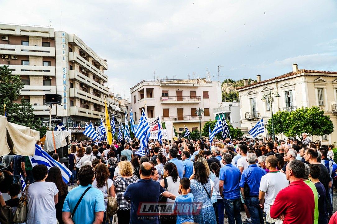 Πραγματικός Σεισμός!Ολική αντεπίθεση χιλιάδων για την Μακεδονία σε Καβάλα -Λαμία – «Πνίγεται» πλέον η Κυβέρνηση….