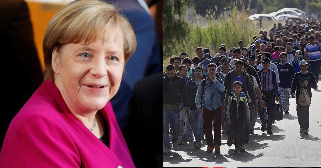 Η Μέρκελ θέλει να κάνει την Ελλάδα αποθήκη προσφύγων