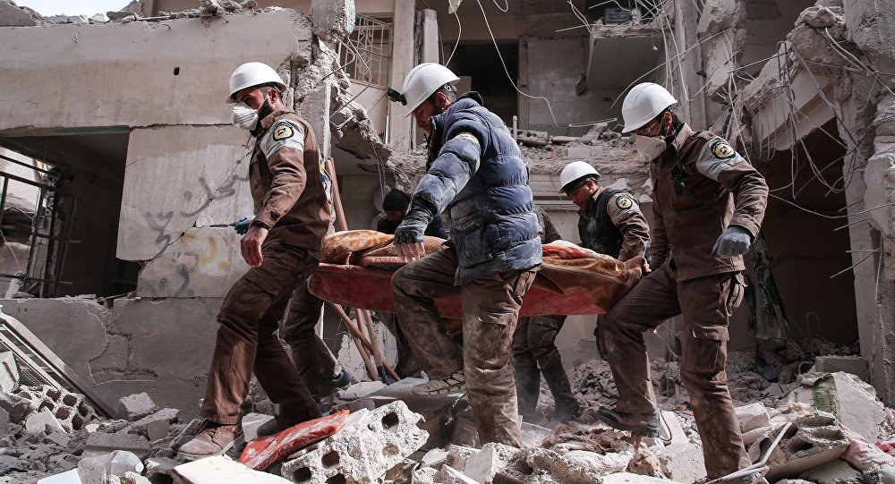 EKTAKTO – Στήνεται προβοκάτσια εισβολής στη Συρία: Ανέβηκε το σκηνοθετημένο βίντεο «χημικής επίθεσης» από τα Λευκά Κράνη – Έρχονται εξελίξεις