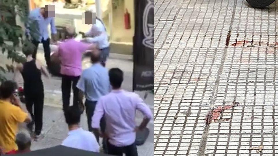 Βίντεο – σοκ από την απόπειρα ληστείας στην Ομόνοια με νεκρό τον δράστη