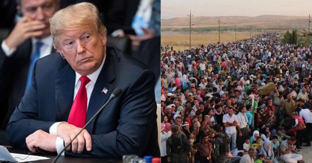 Τραμπ: «Είναι ντροπή που επιτρέπεται η μετανάστευση στην Ευρώπη, χάνετε τον πολιτισμό σας»