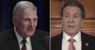 Franklin Graham Warns Andrew Cuomo 'Don't Dismiss the Power of Prayer and the Ability of God' After Governor Insisted 'God Did Not Stop Spread of Coronavirus' in New York