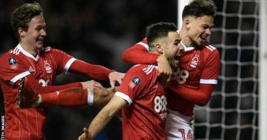 Holders Arsenal knocked out of FA Cup by Forest - highlights & report 2