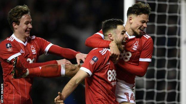 Holders Arsenal knocked out of FA Cup by Forest - highlights & report 24