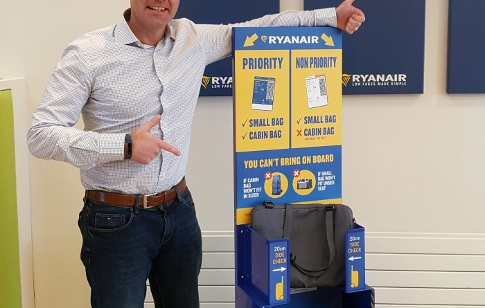 Non-priority Ryanair passengers to be forced to check luggage 9