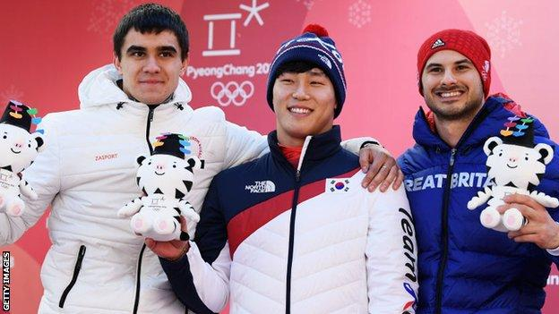 Parsons wins GB's first medal with skeleton bronze - highlights & day-seven round-up 10