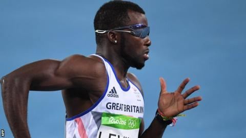 GB sprinter Levine suspended after failing drugs test 16
