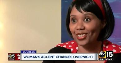 Arizona woman wakes up speaking with a British accent 1