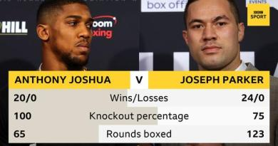 Joshua to 'simplify the madness' in heavyweight unification bout 4