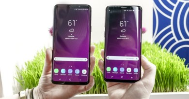 Samsung Galaxy S9, S9+ Users Reporting Touch Screen Dead Zones 1