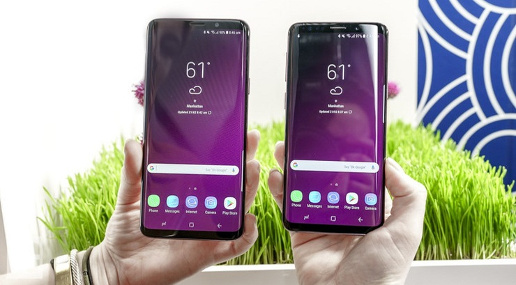 Samsung Galaxy S9, S9+ Users Reporting Touch Screen Dead Zones 6