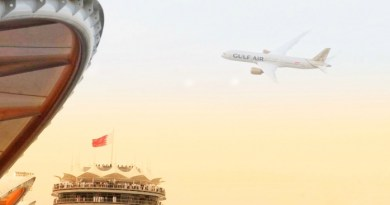 Gulf Air showcases new livery with Dreamliner flypast during Bahrain Grand Prix 3