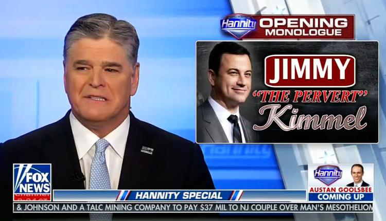 Sean Hannity dredges up old tapes of Jimmy Kimmel in ongoing feud 2