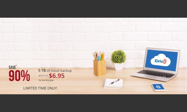 ET deals: 90% Off 5TB of IDrive Cloud Backup for Word Backup Day 5