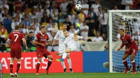 Bale stunner & Karius mistakes see Real beat Liverpool in Champions League 1