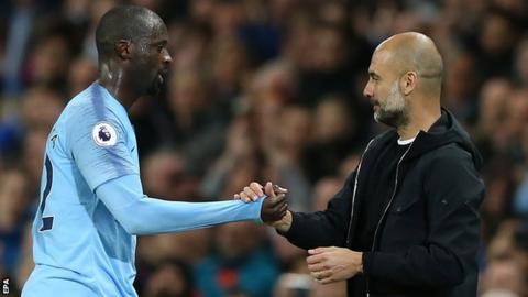 Guardiola often has problem with Africans - Toure 6