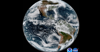 A Weather Satellite Just Beamed Down Absolutely Gorgeous Photos of Earth 1