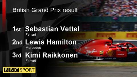 Vettel wins British GP as Hamilton fights back after collision 18
