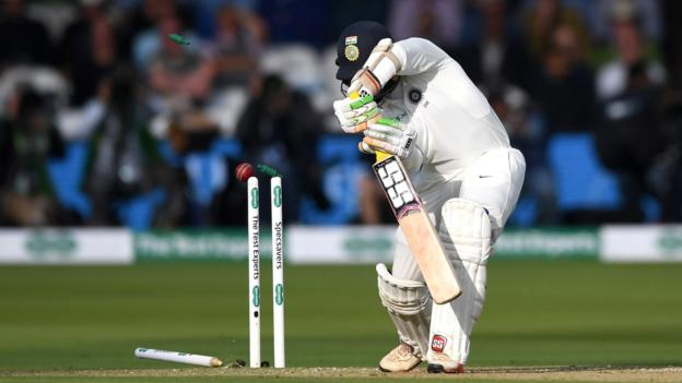Anderson stars as India bowled out for 107 - highlights & report 9