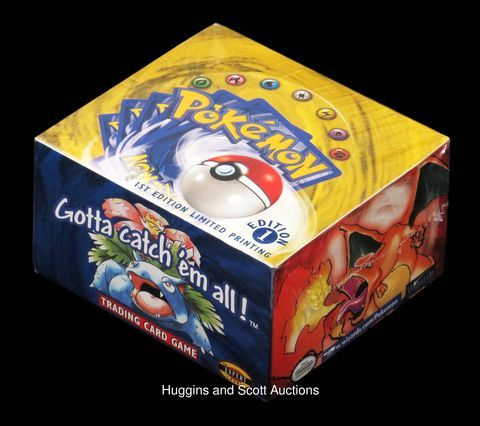 Someone Paid $56,000 for an Unopened Box of 1999 Pokémon Cards 1