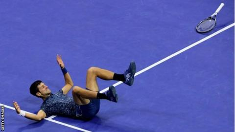 US Open 2018: Novak Djokovic beats Juan Martin del Potro to win title 14