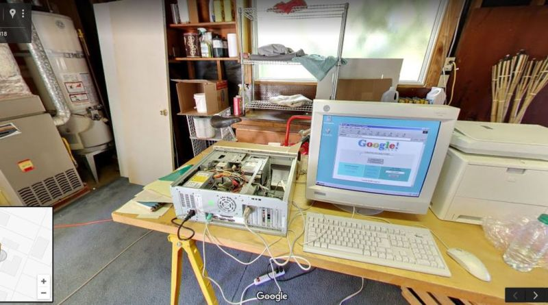 For Its 20th Birthday, Google Is Offering You a Glimpse Into Its Childhood Garage 1