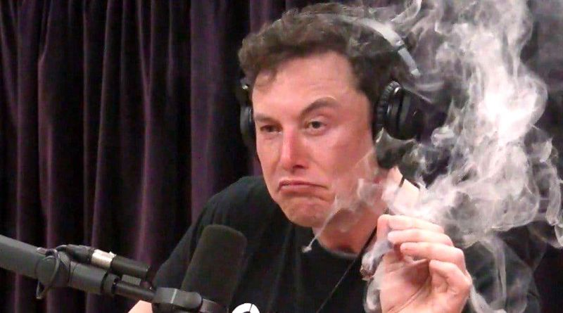 Elon Musk Smokes Weed, Makes Ass of Self in Interview with Joe Rogan 11