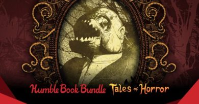 ET Deals: Tales of Horror Humble Book Bundle Starting at $1 2