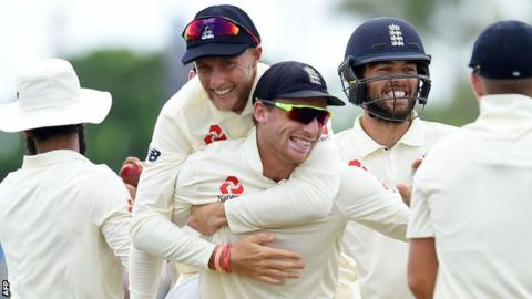 Sri Lanka v England: England complete 211-run win to end losing away run 11
