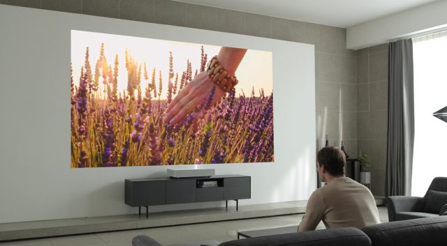 LG's New Laser Projector Works Just 2 Inches Away From Your Wall 4