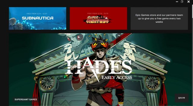 Epic Launches New PC Games Store With Handful of Titles 2