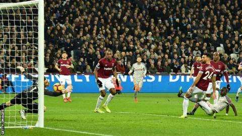 West Ham United 1-1 Liverpool: Michail Antonio earns Hammers a point 13